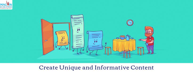 Unique & Informative Content | Best Digital Marketing Training in Bangalore